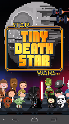 Portada del juego Star Wars Tiny Death Star
