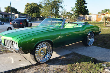 Whytee954 Cars On Big Rims Bully Pitbulls 1970 Candy
