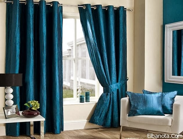 Living room design ideas exclusive top catalog of classic for Blue curtain ideas for living room