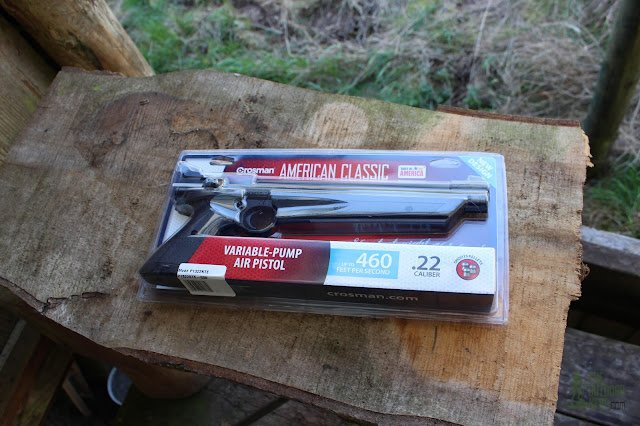 Crosman 1322 Air Pistol - In Package 1