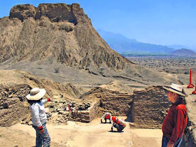 Archaeologists explore the last capital of the Mochica in Northern Peru