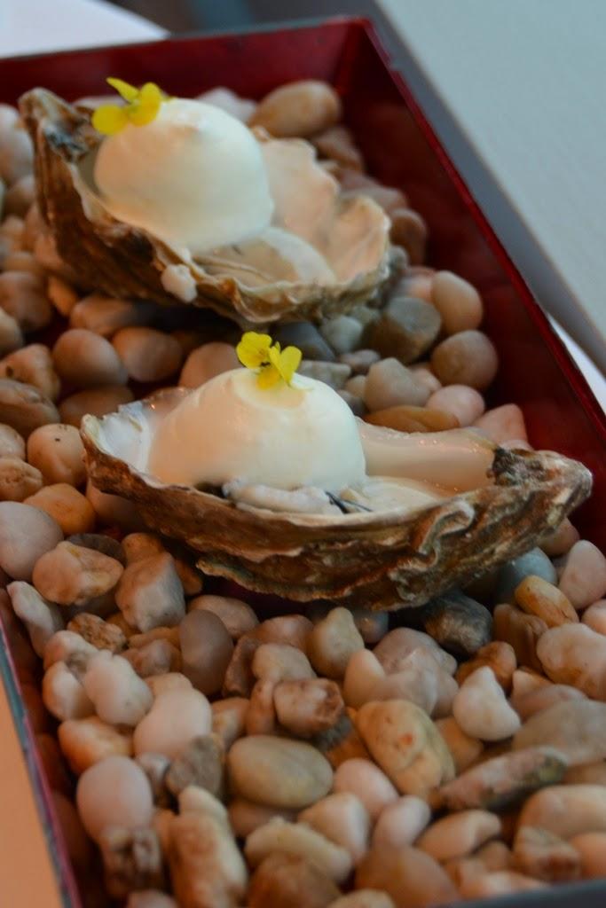 Restauraunt Sel Gris Knokke oysters