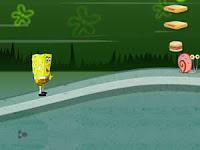 Hungry SpongeBob