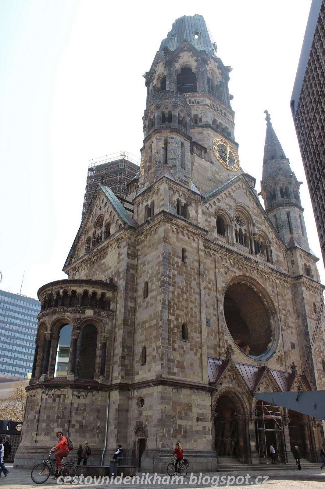 pamětní kostel Viléma I. // kaiser Wilhelm memorial church