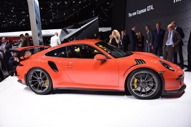 IMÁGENES PORSCHE 911 GT3 2017