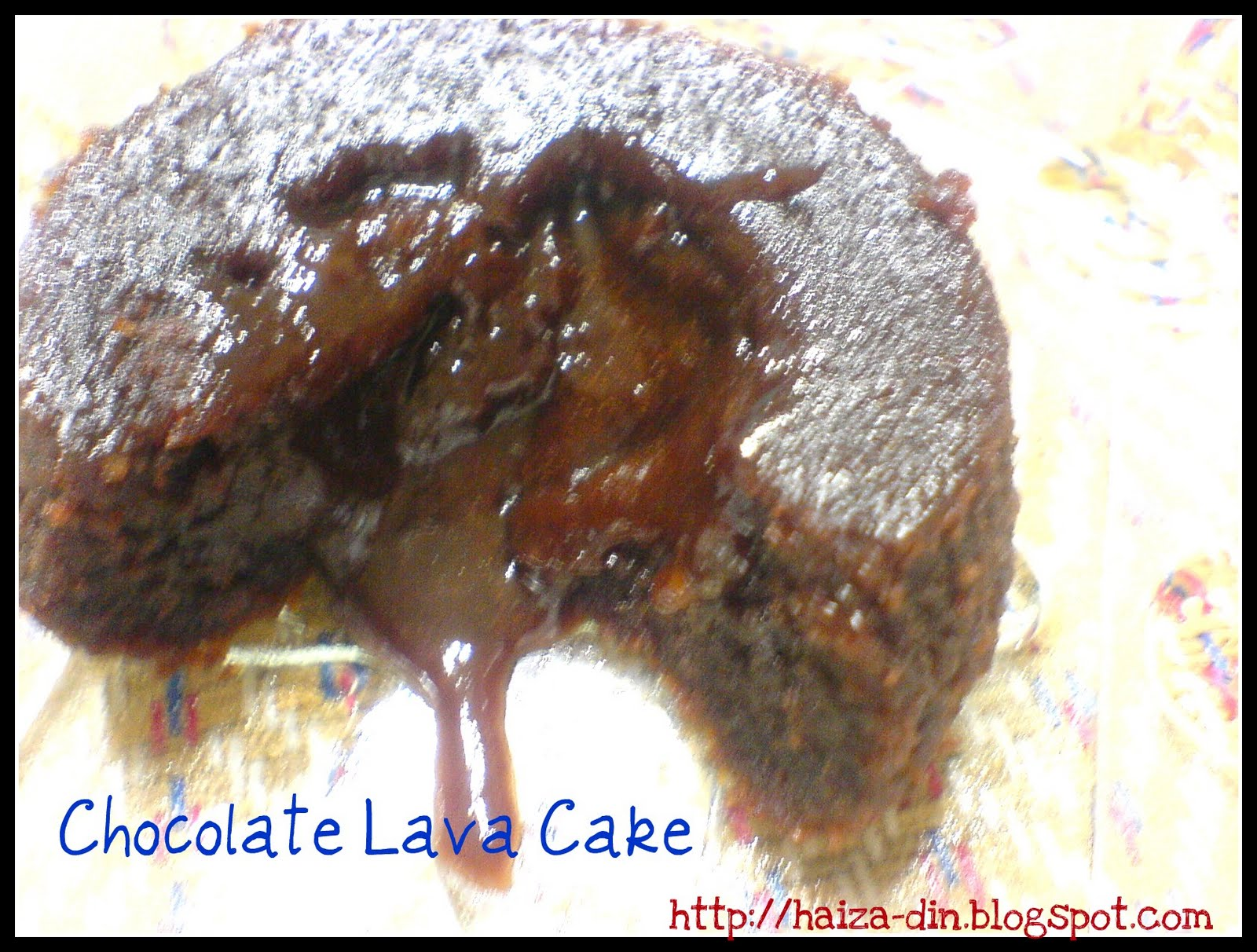 CoOkInG Is LiKe LoVe........: Chocolate Lava Cake