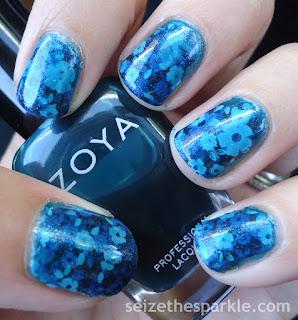 Floral Pond Manicure