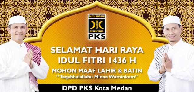 Selamat Hari Raya Idul Fitri 1436 H, Taqabbalallahu Minna Waminkum
