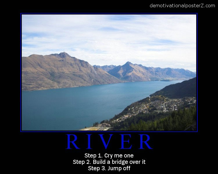 cry me a river poster