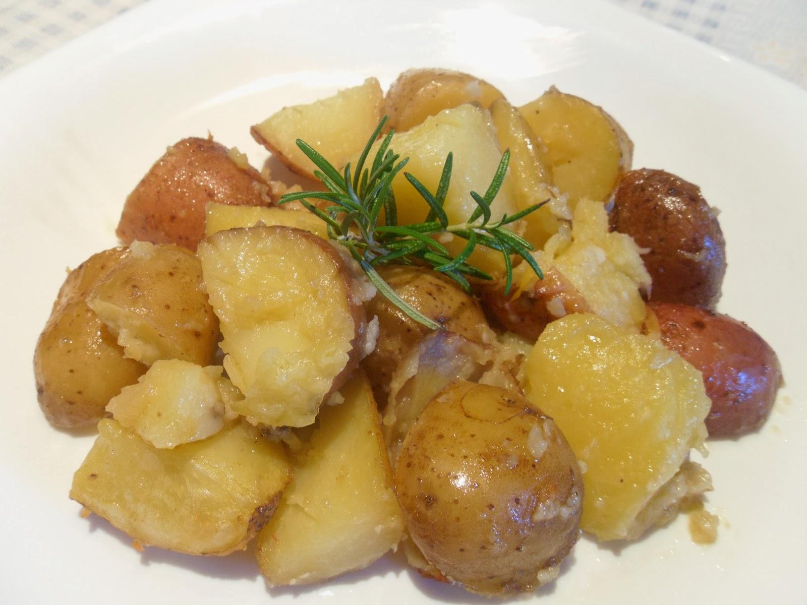 Batatas assadas rápidas