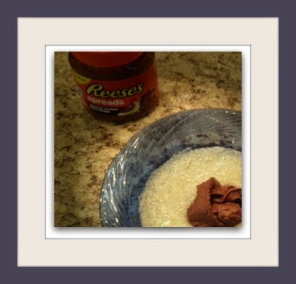 Reeses Spread in grits