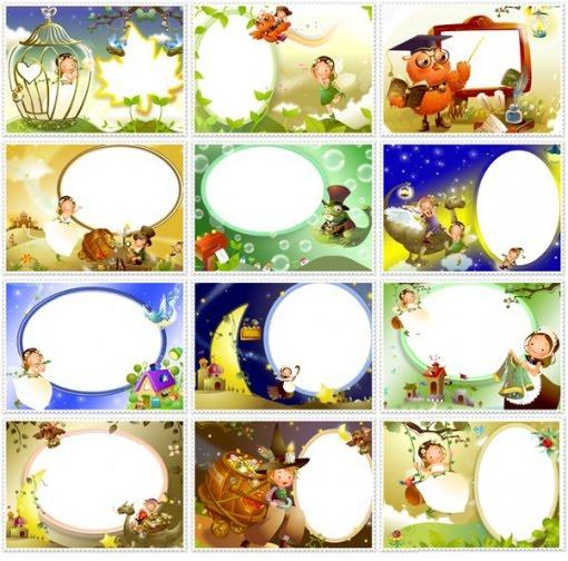 de bordes diseñados en photoshop, ideales para enmarcar esas fotos de ...