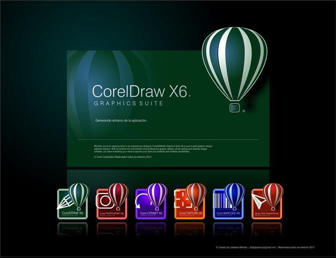 CorelDRAW X6 Tek Link Full (32-64)   Program İndir Full
