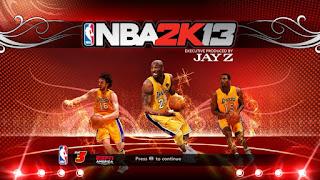 NBA 2K13 Lakers Startup Screen Mod