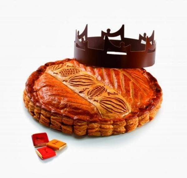 Galette des rois chocolat Nacza, pure origine du Pérou à La Maison du Chocolat