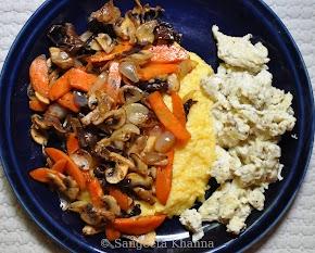 Mushrooms at it's best : more ways to eat polenta...