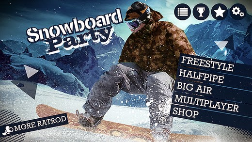 Snowboard Party Gameplay