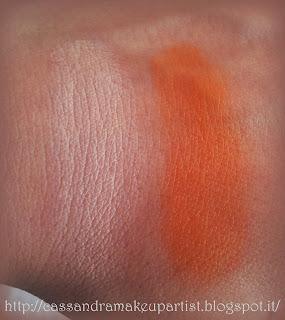 QStudio Makeup RP - COVER CREAM - 02 Rosato 04 Aracio correttore aranciato - swatch - recensione - review - correttore compatto - camouflage - inci - prodotti - prezzo