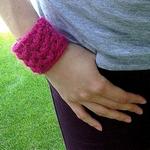 puff bracelet free crochet pattern