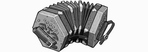 free reed Instruments.Concertina
