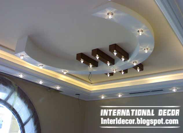 Italian gypsum board roof designs gypsum board roof for Decoration ba13
