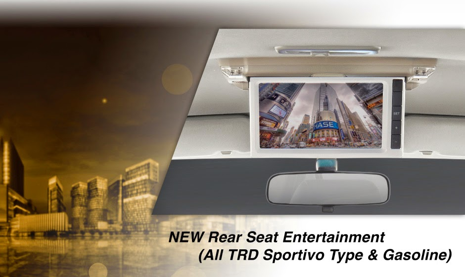 new-fortuner rear-seat entertainment