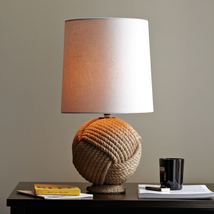 nautical rope lighting fixtures driven by decor. Black Bedroom Furniture Sets. Home Design Ideas