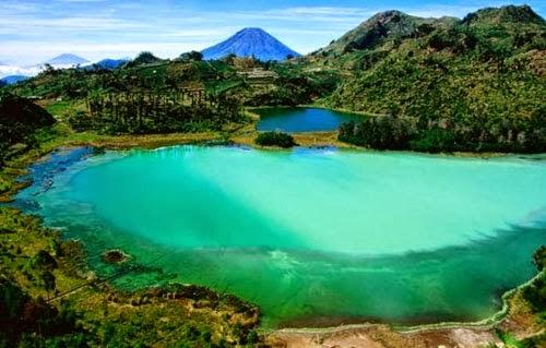 Tempat Wisata Pilihan Telaga Warna Bogor