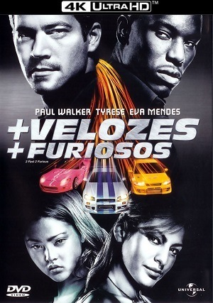 Velozes e Furiosos 2 - +Velozes +Furiosos 4K Filmes Torrent Download capa
