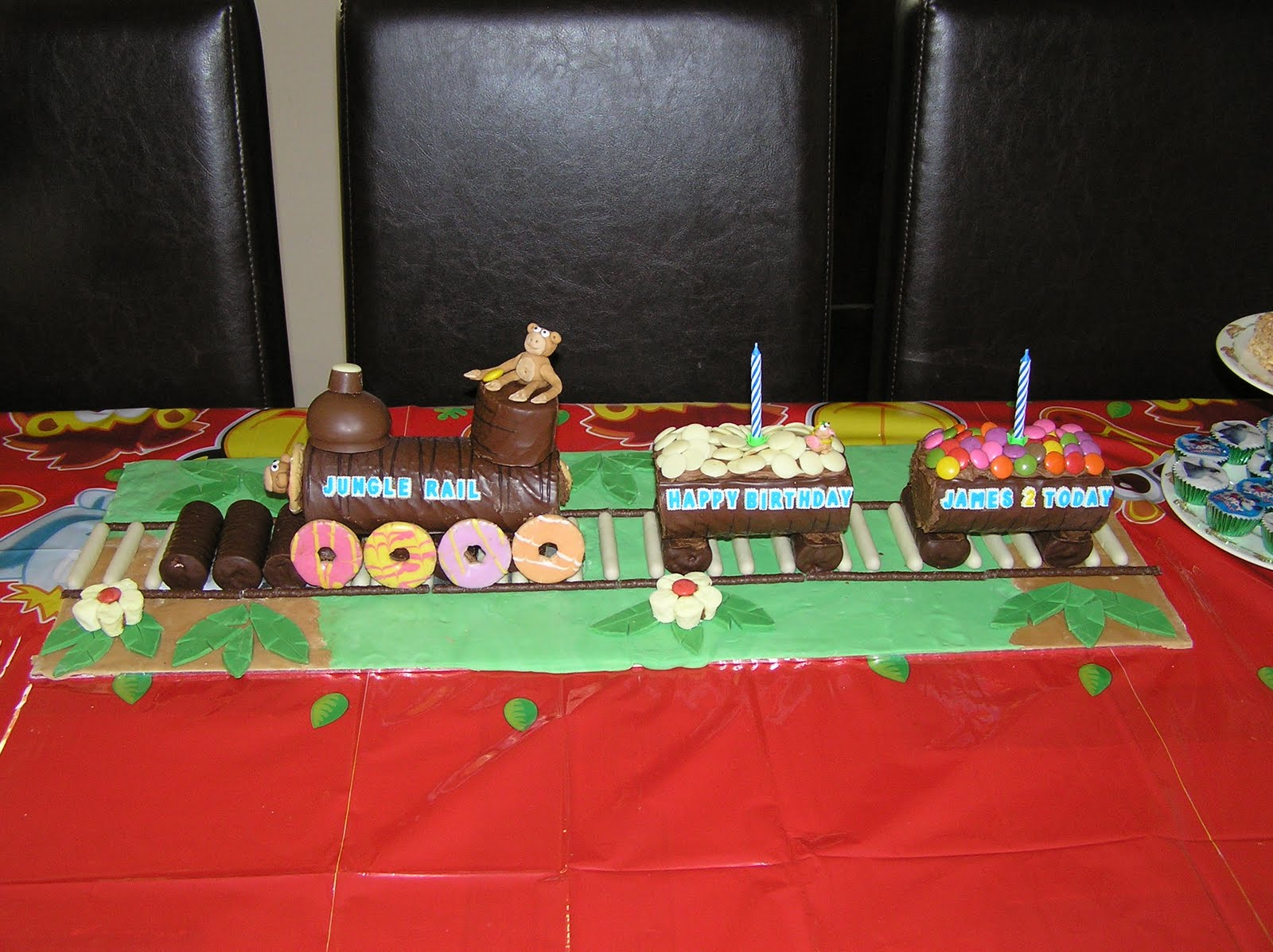 No Bake Train Cake Nicolas No Bake Birthday Cakes