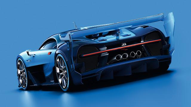 2017 Bugatti Vision Gran Turismo