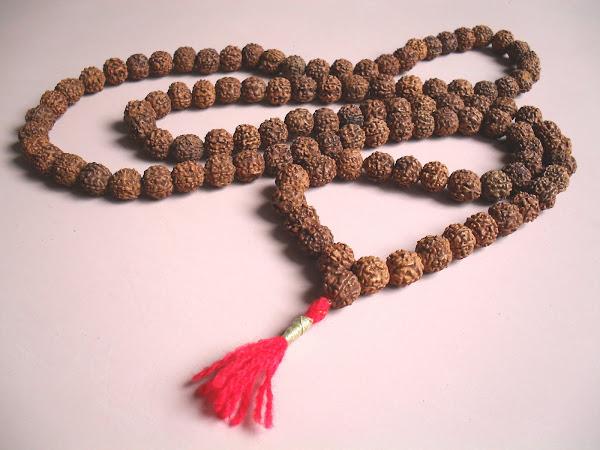 OTROS PRODUCTOS - Japa Mala de 108 cuentas de Rudraksha.