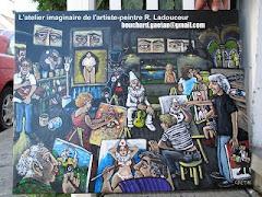 L'atelier imaginaire de Régent Ladouceur