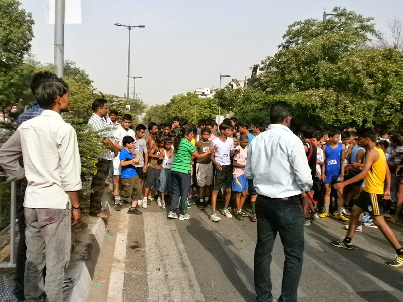 marathon in delhi