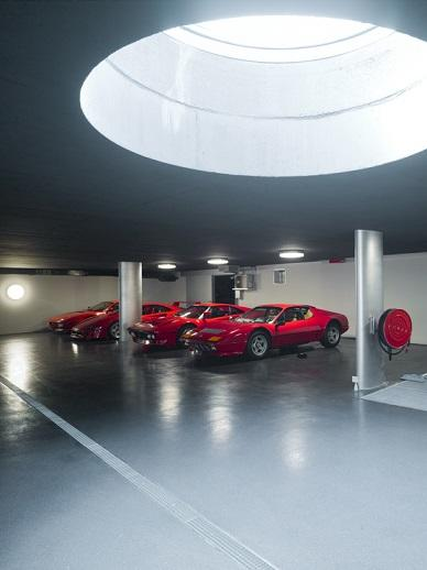 This car park will be the heart of many car enthusiasts beat faster  The  garage  which is an underground part of a villa and estate  which has an  impressive. 4 beautiful car parking designs   Parking in style   Interestings
