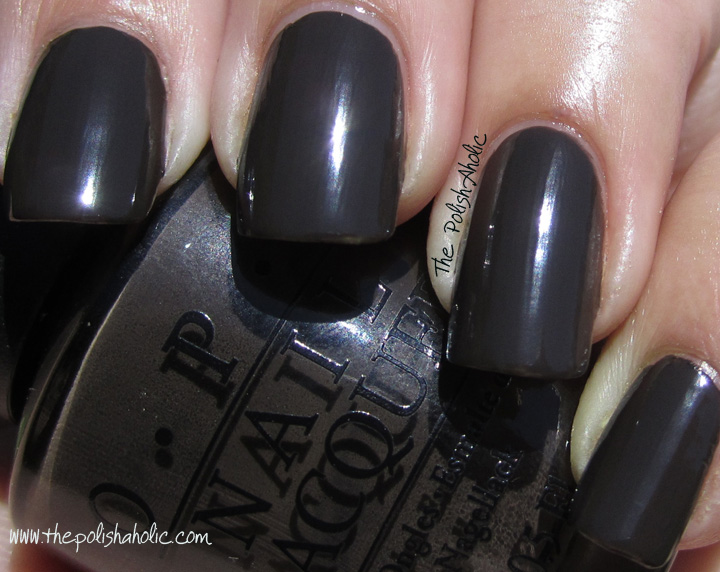 OPI Get In The Expresso Lane, Free Shipping at Nail Polish Canada