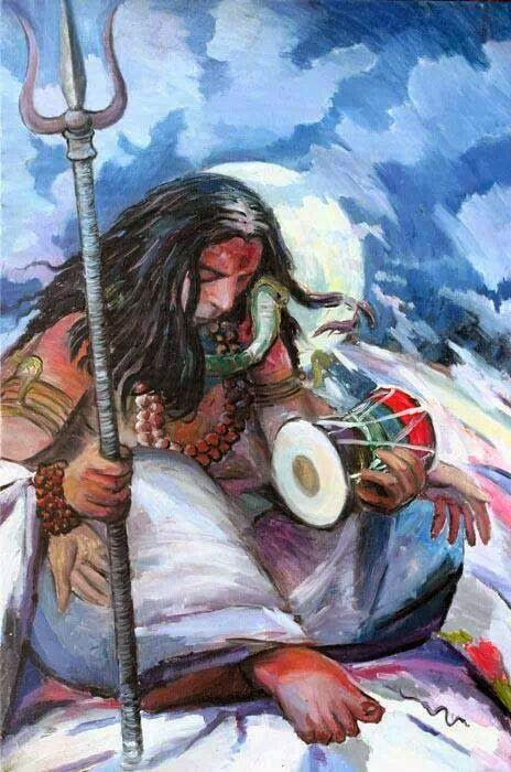 Lord Shiva The Powerful God:  Shiva is 'shakti' or power, Shiva is the destroyer, the most powerful god of the Hindu pantheon and one of the godheads in the Hindu Trinity. Known by many names - Mahadeva, Mahayogi, Pashupati, Nataraja, Bhairava, Vishwanath, Bhava, Bhole Nath - Lord Shiva is perhaps the most complex of Hindu deities. Hindus recognize this by putting his shrine in the temple separate from those of other deities.  Shiva As Phallic Symbol:  Shiva, in temples is usually found as a phallic symbol of the 'linga', which represents the energies necessary for life on both the microcosmic and the macrocosmic levels, that is, the world in which we live and the world which constitutes the whole of the universe. In a Shaivite temple, the 'linga' is placed in the center underneath the spire, where it symbolizes the naval of the earth.   Read the Story of the Shiva Lingam   A Different Deity:  The actual image of Shiva is also distinct from other deities: his hair piled high on the top of his head, with a crescent tucked into it and the river Ganges tumbling from his hairs. Around his neck is a coiled serpent representing Kundalini or the spiritual energy within life. He holds a trident in his left hand in which is bound the 'damroo' (small leather drum). He sits on a tiger skin and on his right is a water pot. He wears the 'Rudraksha' beads and his whole body is smeared with ash.  The Destructive Force:  Shiva is believed to be at the core of the centrifugal force of the universe, because of his responsibility for death and destruction. Unlike the godhead Brahma, the Creator, or Vishnu, the Preserver, Shiva is the dissolving force in life. But Shiva dissolves in order to create, since death is the medium for rebirth into a new life. So the opposites of life and death and creation and destruction both reside in his character.  The Most Fascinating of Gods:  He is also often portrayed as the supreme ascetic with a passive and composed disposition. Sometimes he is dep