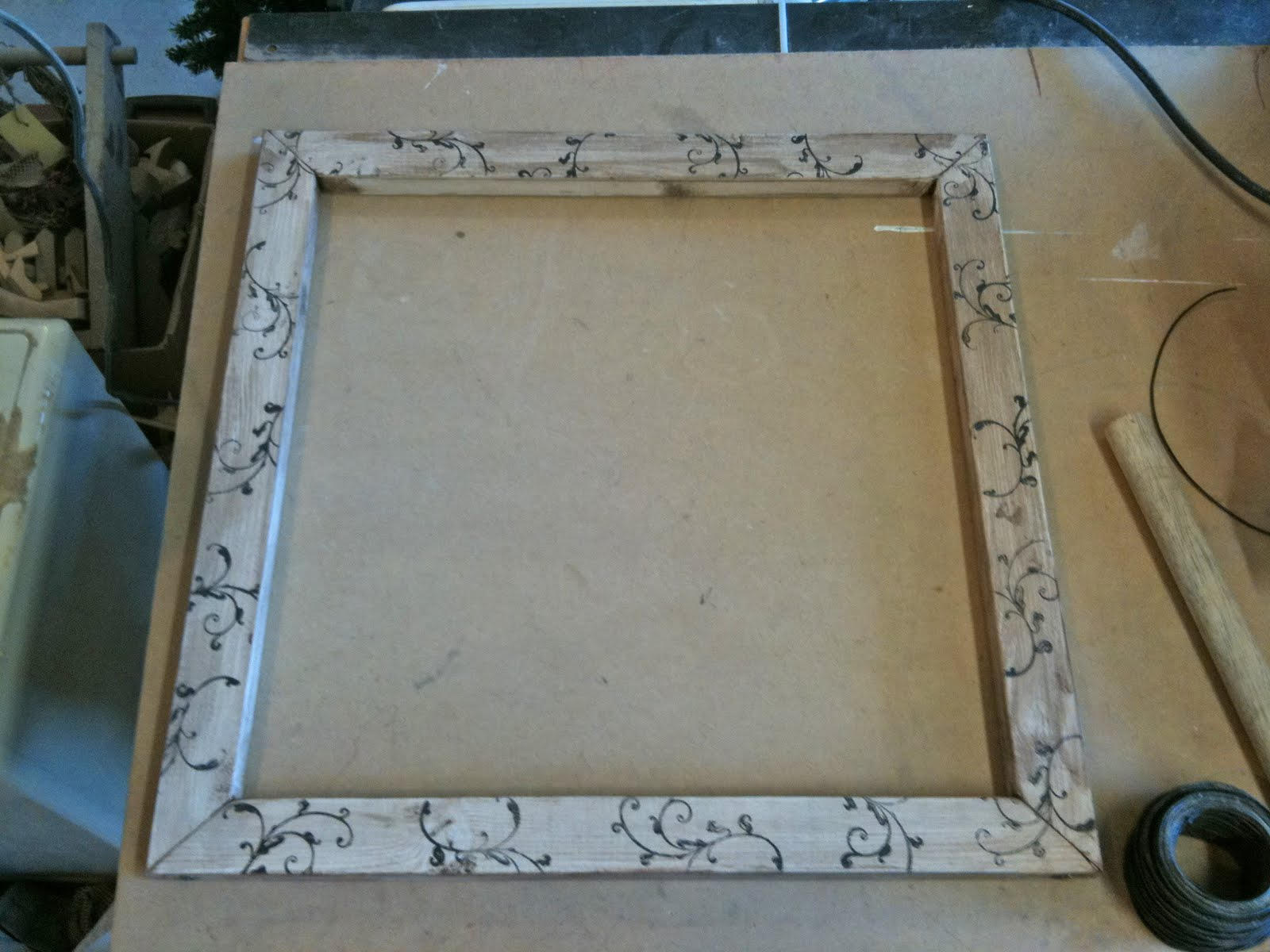 G J G J: Wire Picture/Note Frames How To!