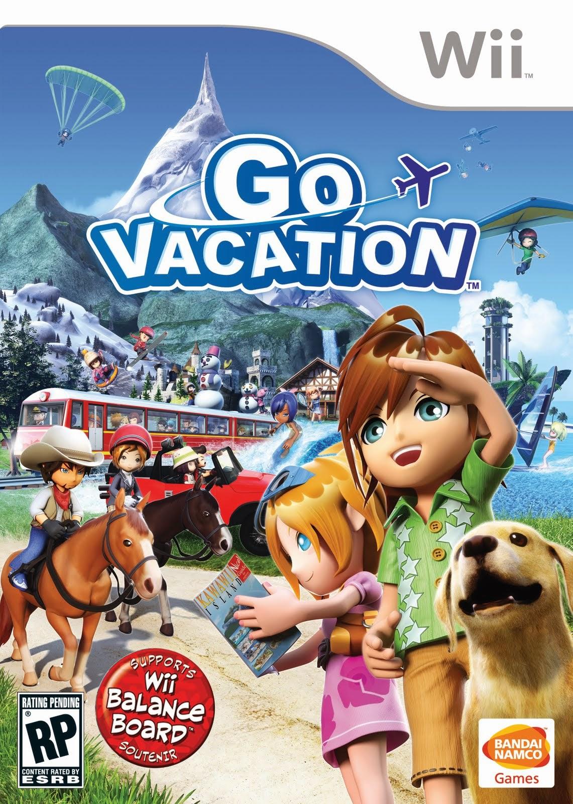 Nintendo Collection Wii 3 Threadbits Go Balance Board Vacation 101111