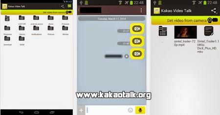Envia videos a tus amigos con Kakao Video Talk