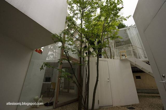 Casa japonesa conceptual