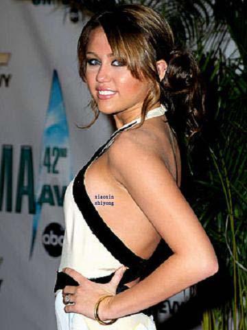Cocon augreduvent celebrity miley cyrus tattoos