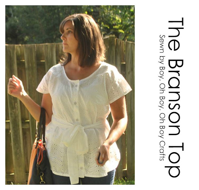 Branson Top Sewing Pattern
