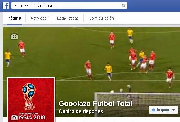 Gooolazo Futbol Total Facebook