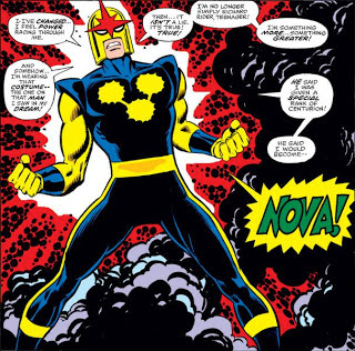Imagen del origen de Nova-Superhéroe