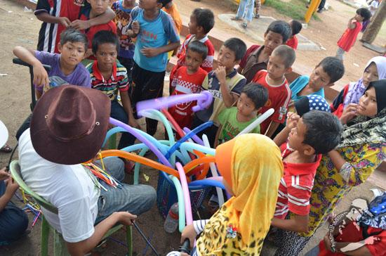 Kemeriahan Pesta Wau Antarabangsa Kelantan, Tumpat