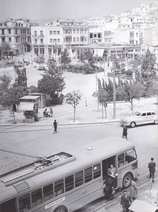 Πλατεία Κυψέλης το 1953