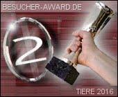 Besucher-Award Katergorie Tiere 2016