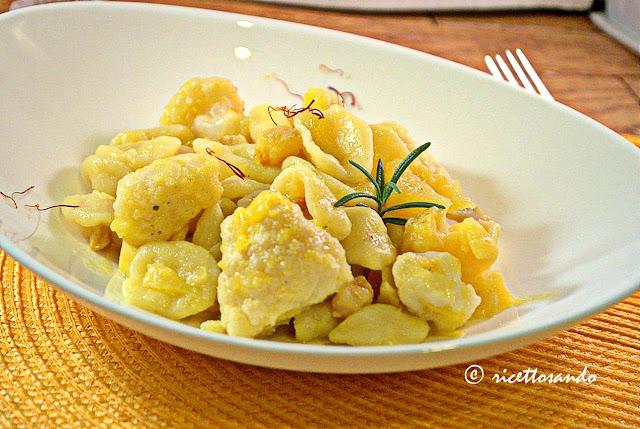 Orecchiette gialle con zafferano e cavolfiori ricetta primi piatti