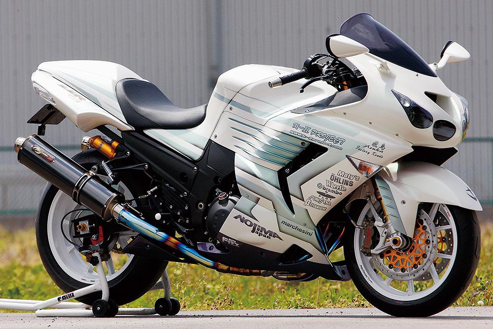 Racing Cafè: Kawasaki ZZR 1400 by K-2 Project